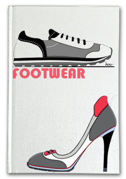 footwear sketchbook