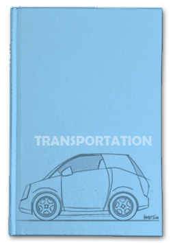 transportation sketchbook